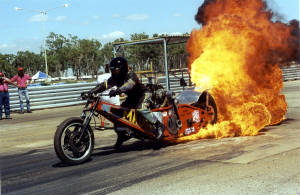 FIRE BURN OUT BIKE